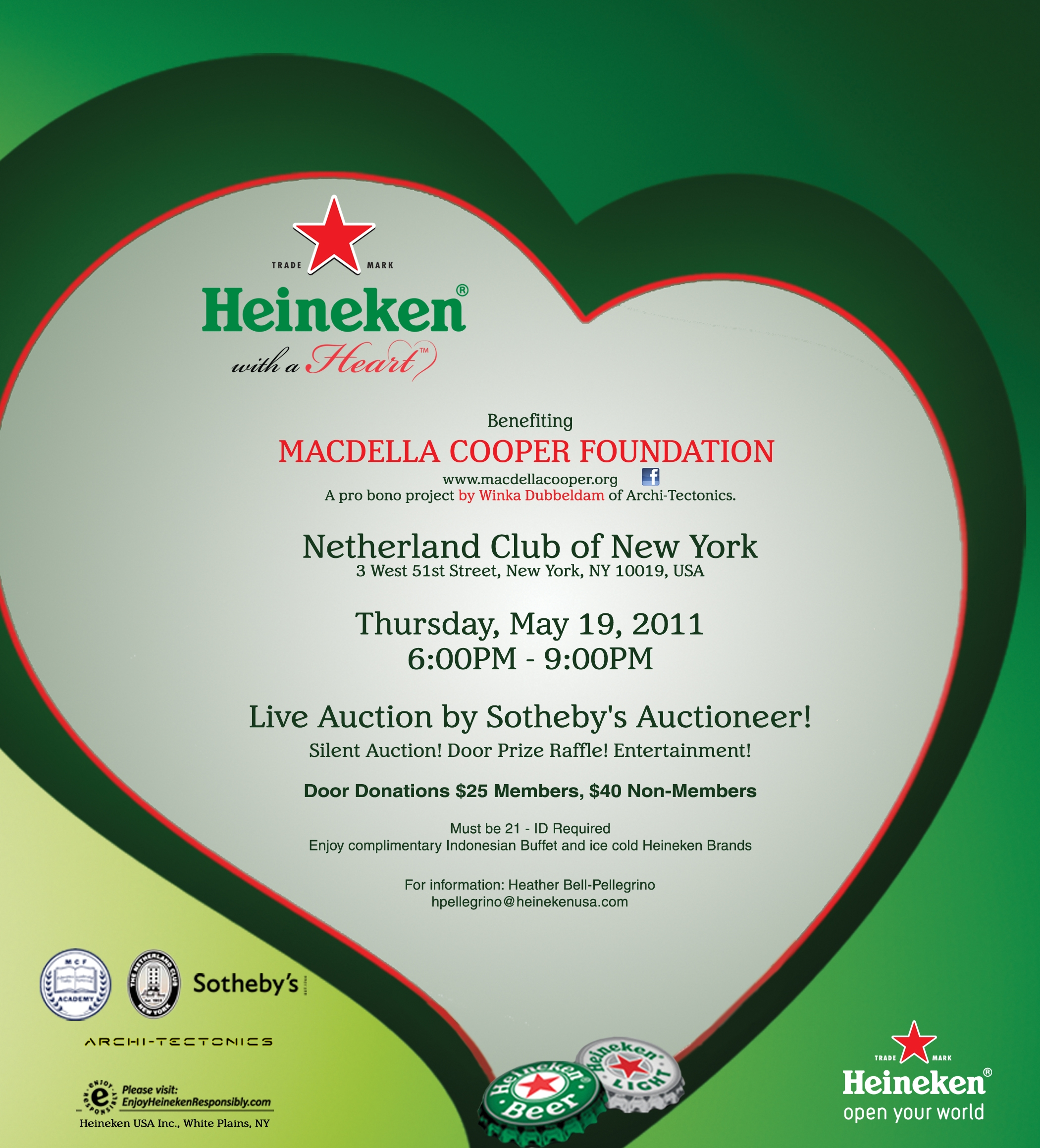 MCF Academy Charity Auction Invite