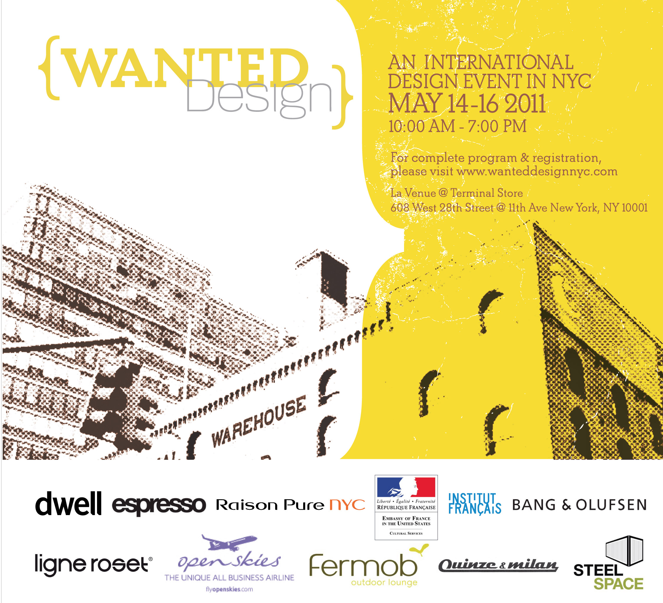 WantedDesign Invite